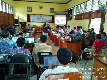 Bimtek Untuk Mempertajam Aplikasi Sistem Informasi Desa